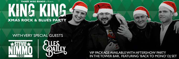 King King Rock & Blues Xmas Party image