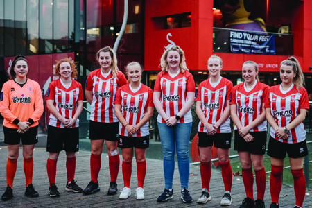 The Engine Shed sponsors Lincoln City Women FC Thumbnail