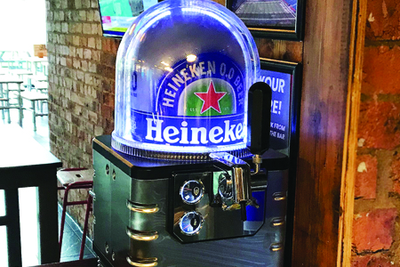 Alcohol-free Heineken now available on tap Thumbnail